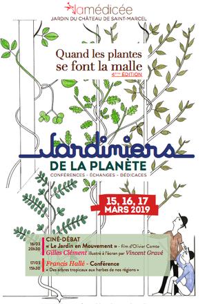 4° Colloque à la Médicée « Quand les Plantes se font la Malle » 15, 16 et 17 mars 2019