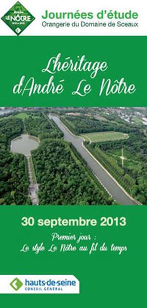 L'héritage d'André Le Nôtre