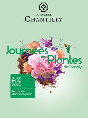 ANNULATION Journées des Plantes de Chantilly 15 - 17 mai 2020