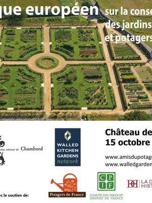Conservation des jardins fruitiers et potagers historiques 15 10 2020
